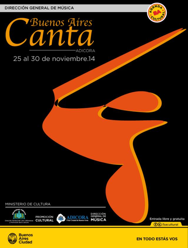 Buenos Aires Canta 2014